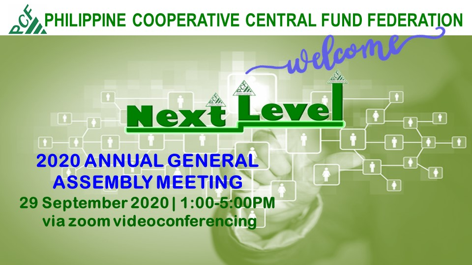 The PCF 2020 Virtual Annual General Assembly Meeting